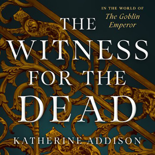 Best selling British audiobook narrator Liam Gerrard reading Witness For The Dead